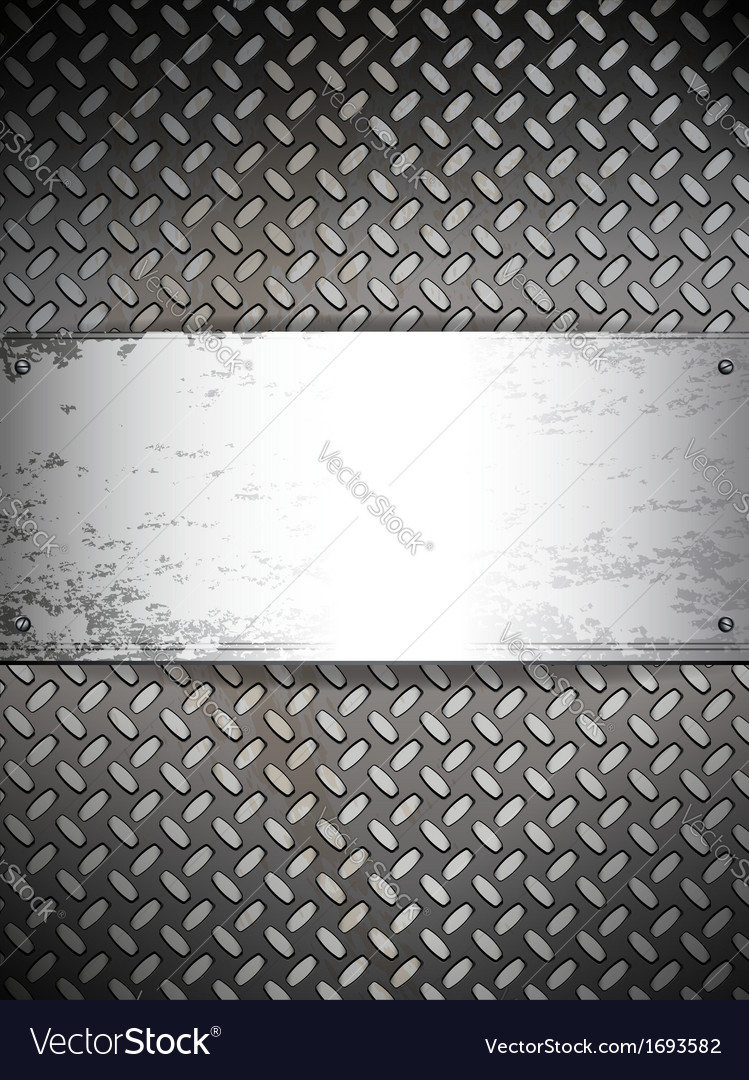 Fluted metal background