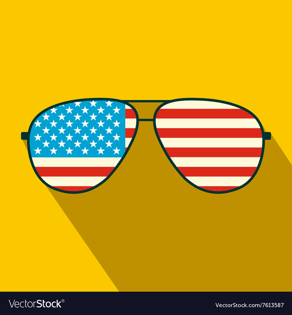 b9f494fc233 American flag glasses flat icon royalty free vector image jpg 1000x1080 American  flag glasses