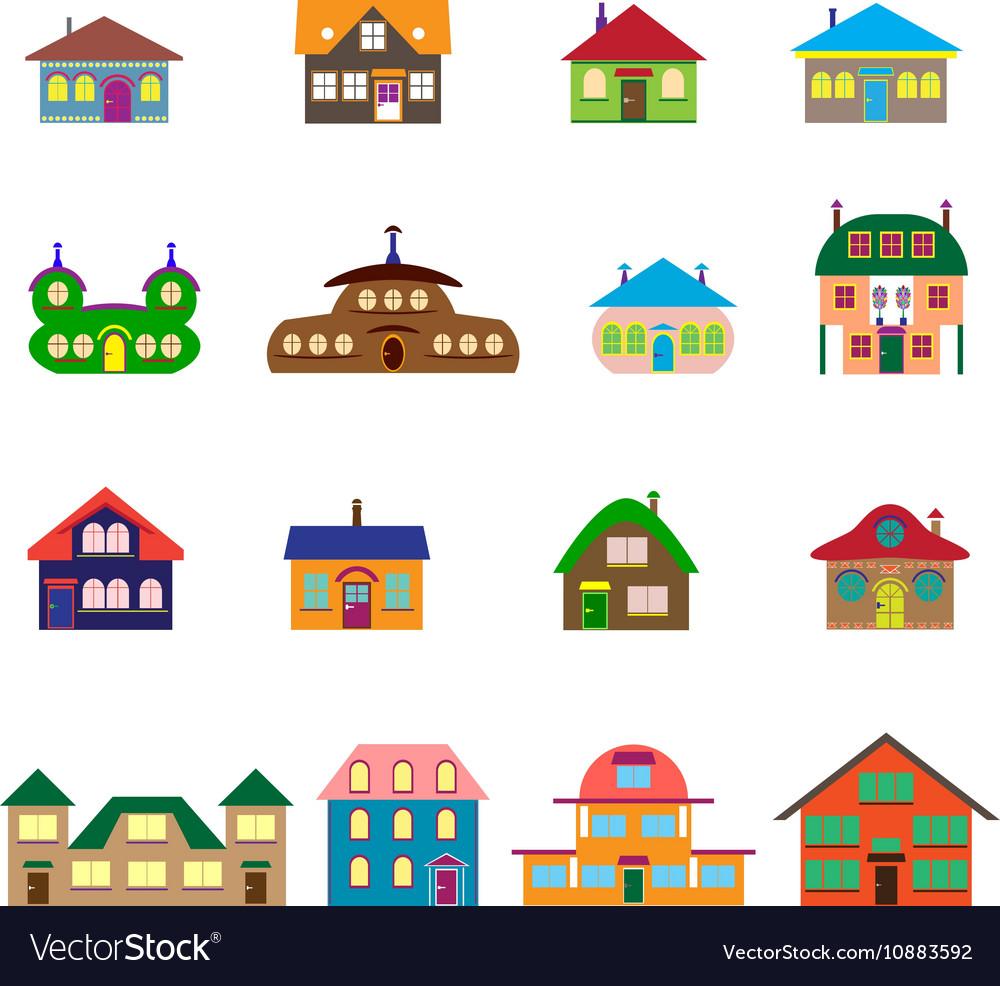 House cartoon set