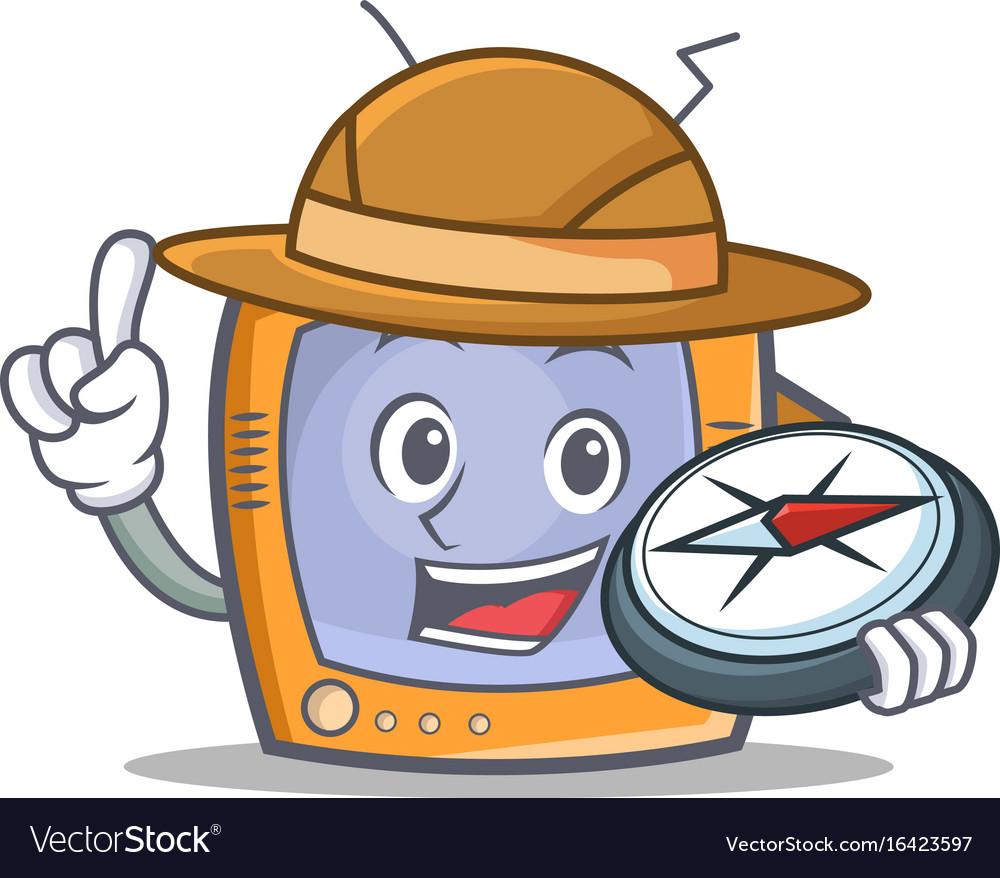 Explorer tv character cartoon object