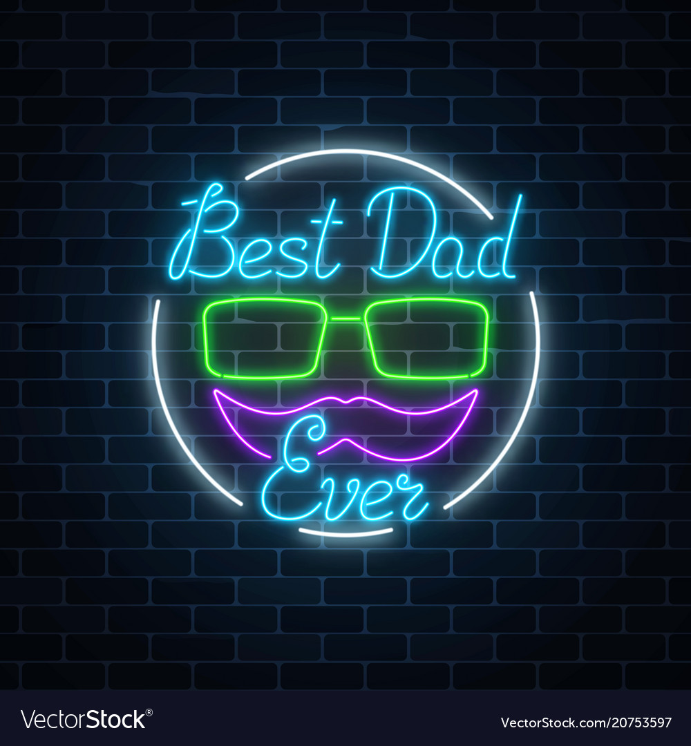 Greeting card to best dad ever fathers day in