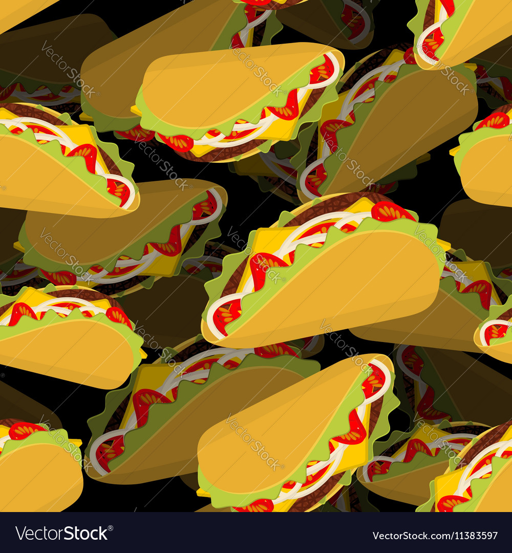 Taco 3d background Volume texture Mexican food