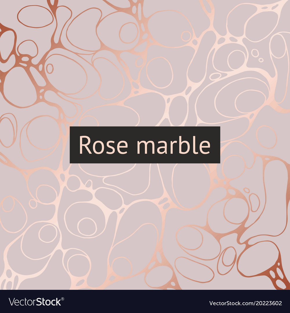 Background with imitation of rose gold vector image