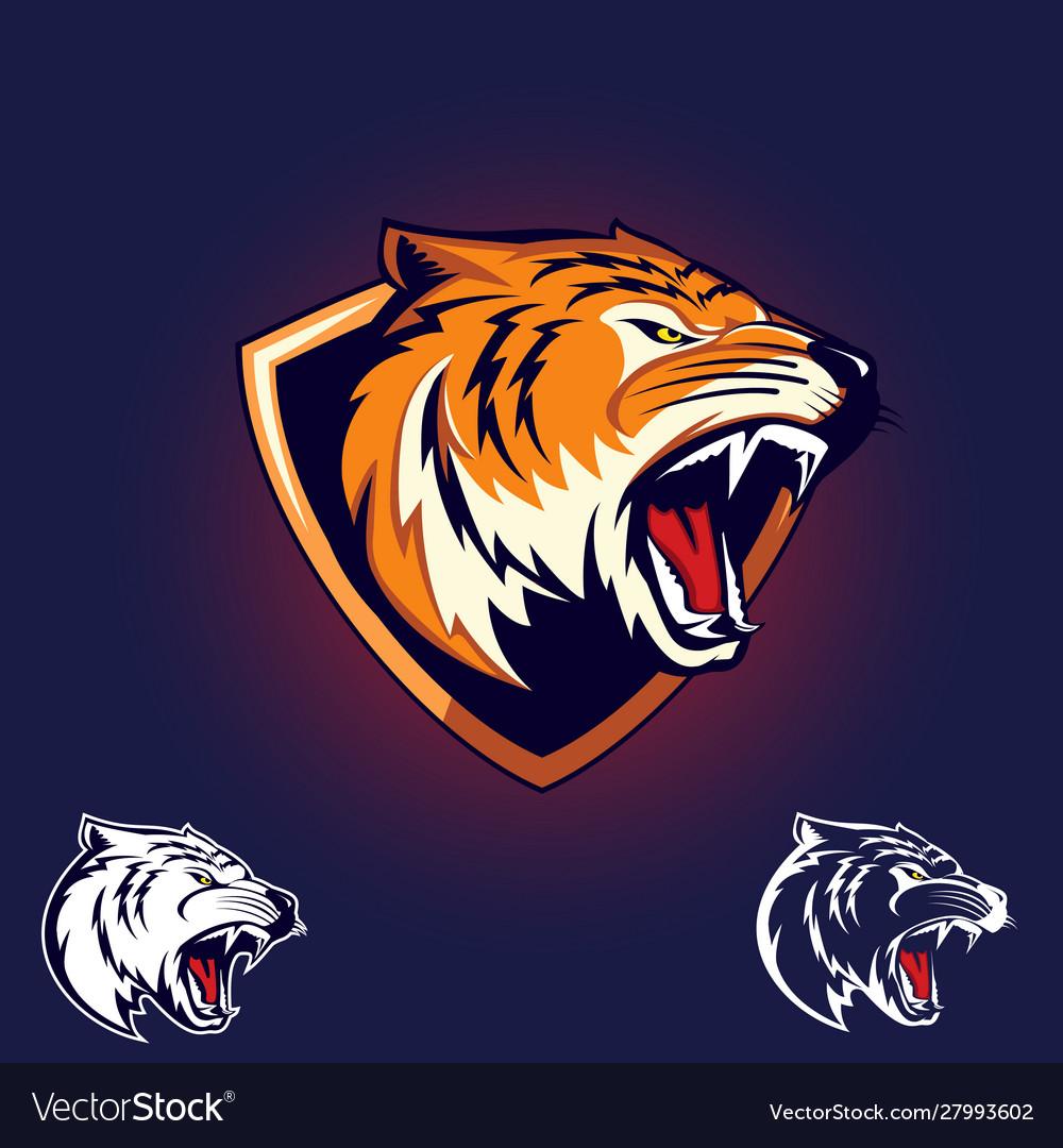Tiger emblem logo