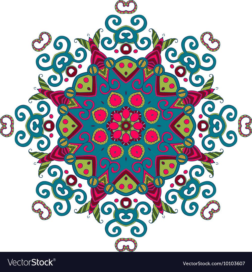 Abstract Hand-drawn Mandala 7