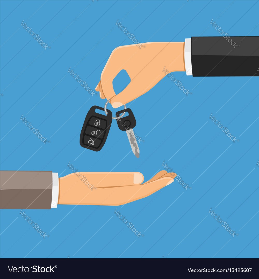 Purchase or rental car concept