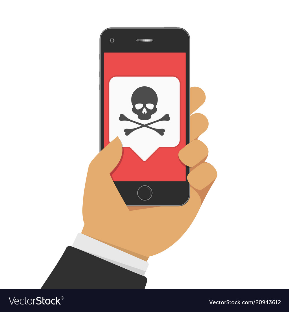 Malware notification on phone