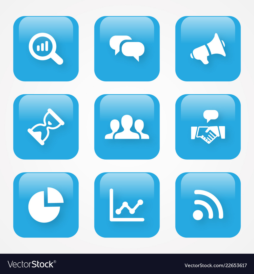 Analytics icon button
