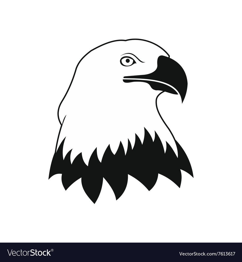 Bald eagle icon