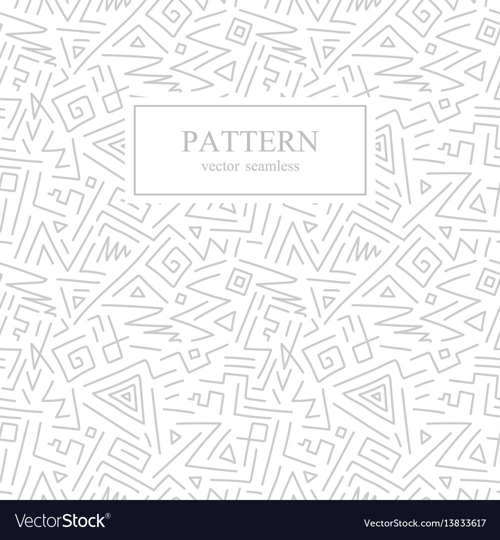 Seamless geometric patterns in memphis style
