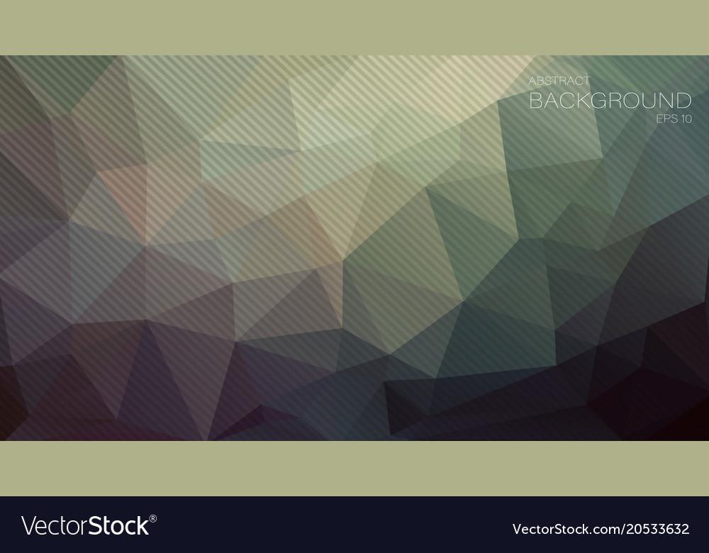 Pastel Color Geometric Triangle Wallpaper