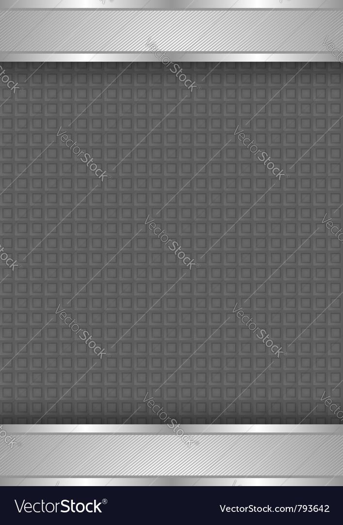 Background template metallic texture