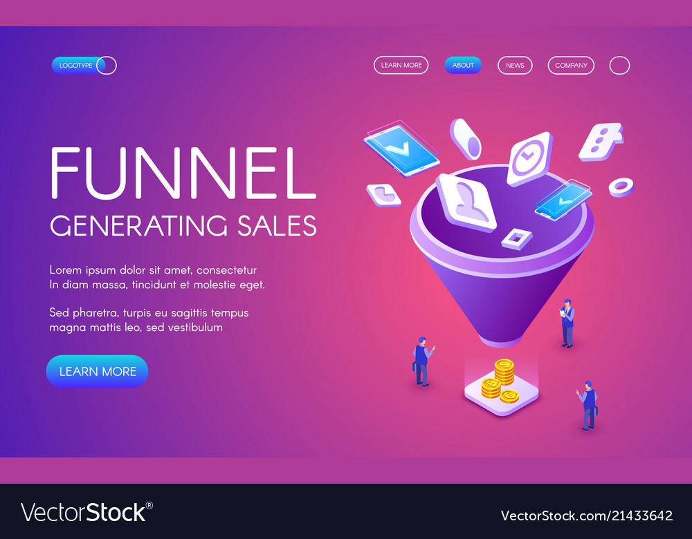 Funnel generation sales