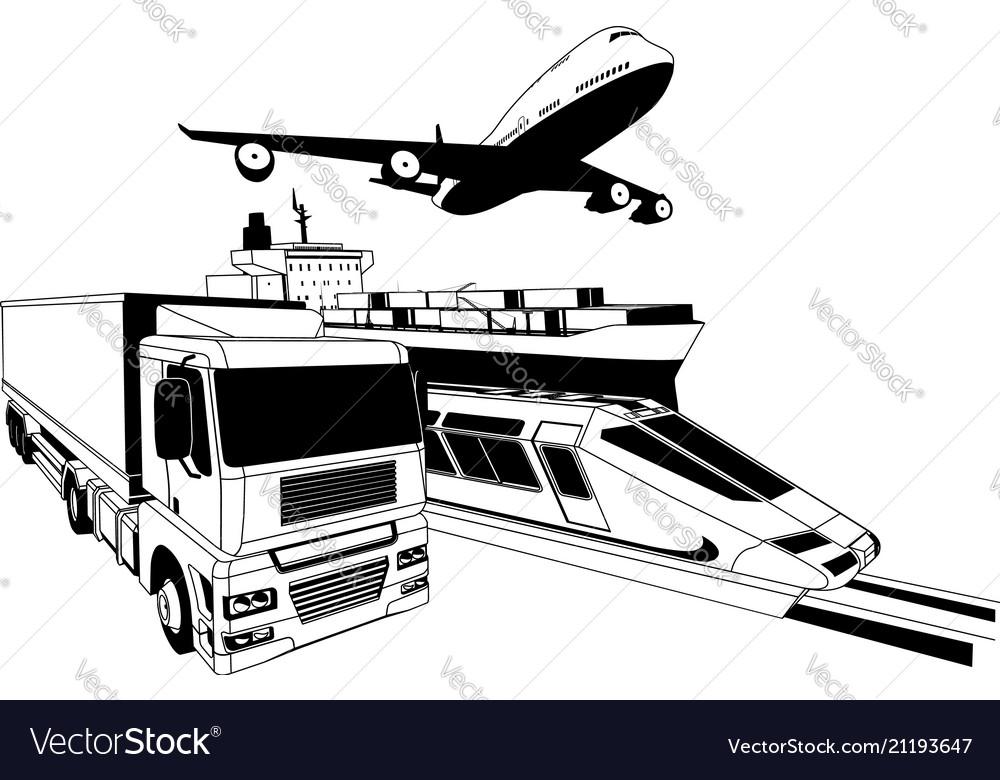 Cargo logistics transport