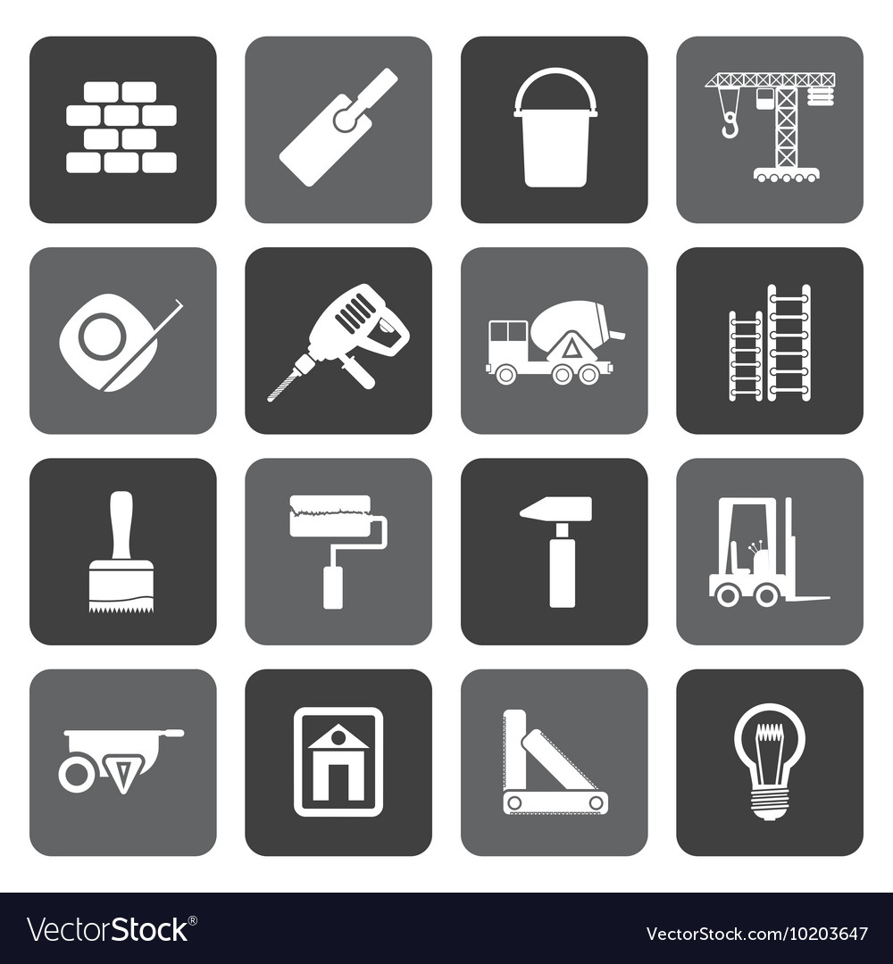 Flat Construction and Building icons