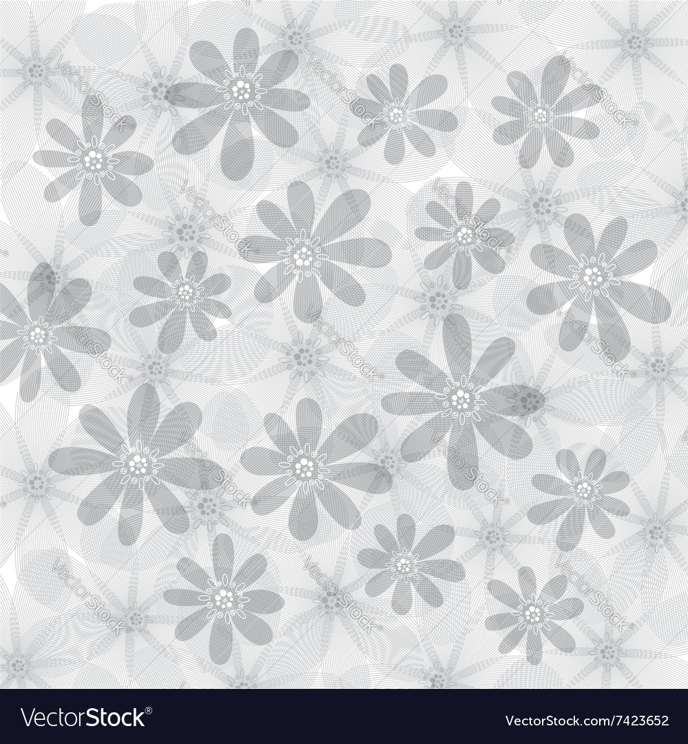 Floral background flowers pattern