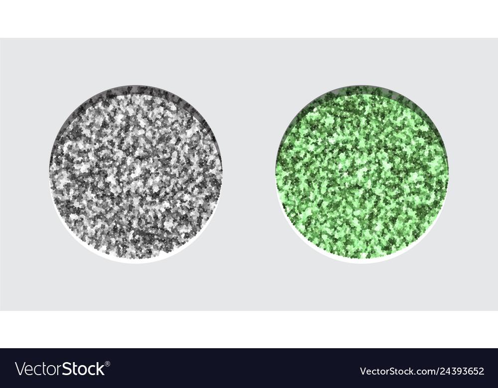 Glitter eyeshadow tinsel shimmer lipstick or
