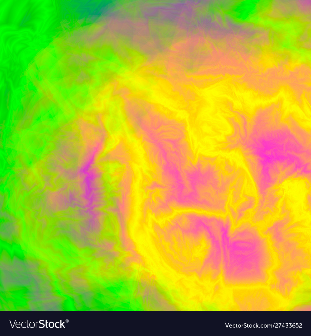 Pink Yellow Green Smooth Marble Texture Glitch Vector Image