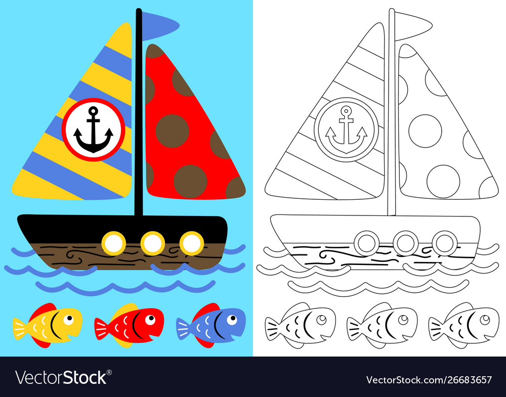 free printable coloring image 001 Sail Boat Coloring Pages ... | 785x1000