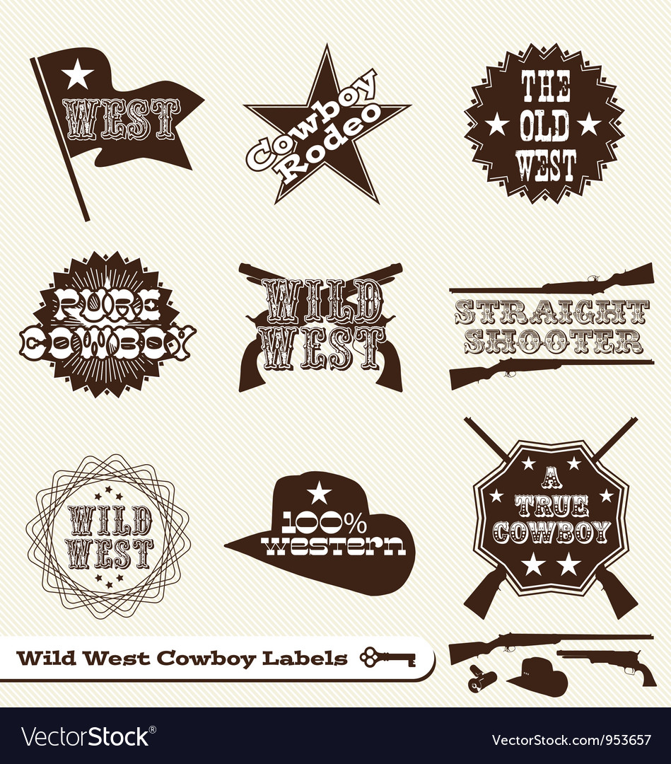 Cowboy Labels