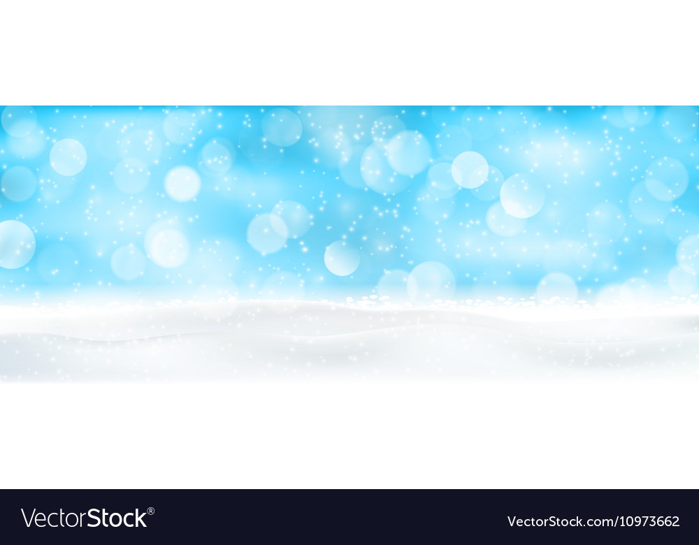 Abstract blurry light dots background