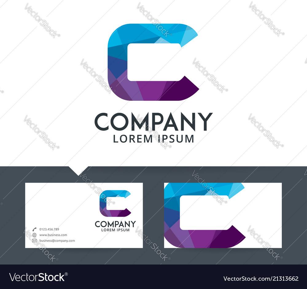 Letter c - logo design