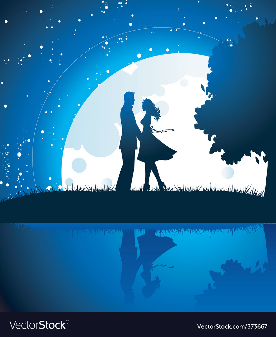 Lovers Royalty Free Vector Image Vectorstock