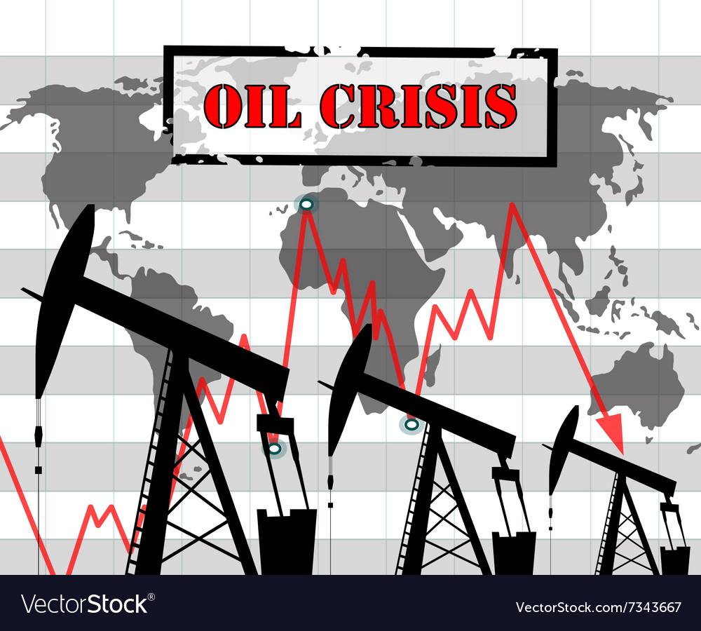 Oil crisis graph