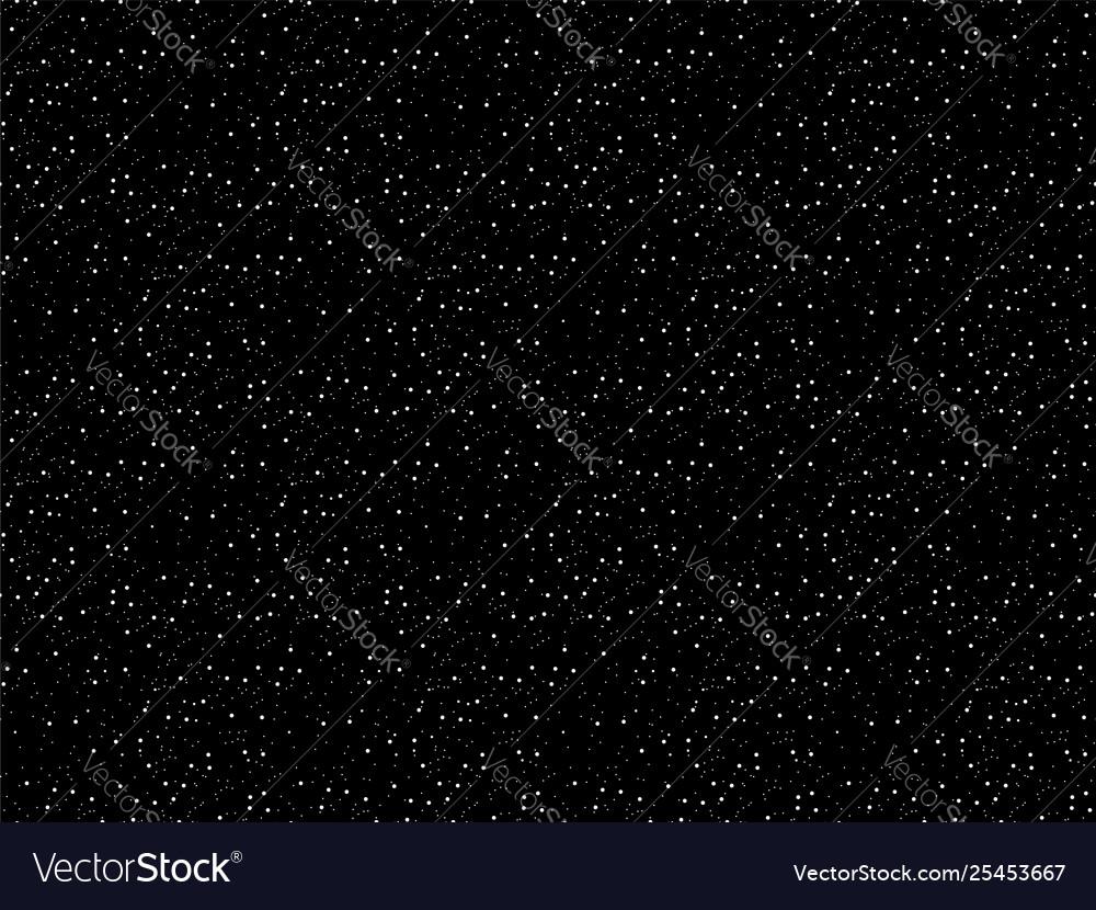 Stars background night sky seamless pattern