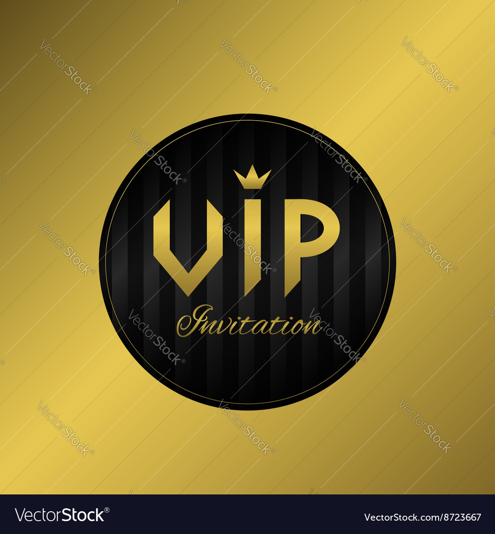 Vip invitation card royalty free vector image vectorstock vip invitation card vector image stopboris Gallery