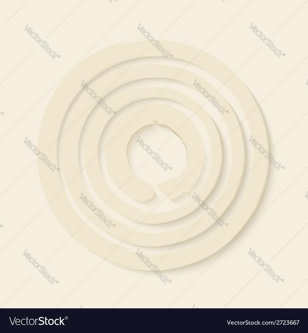 Zen circles design vector image