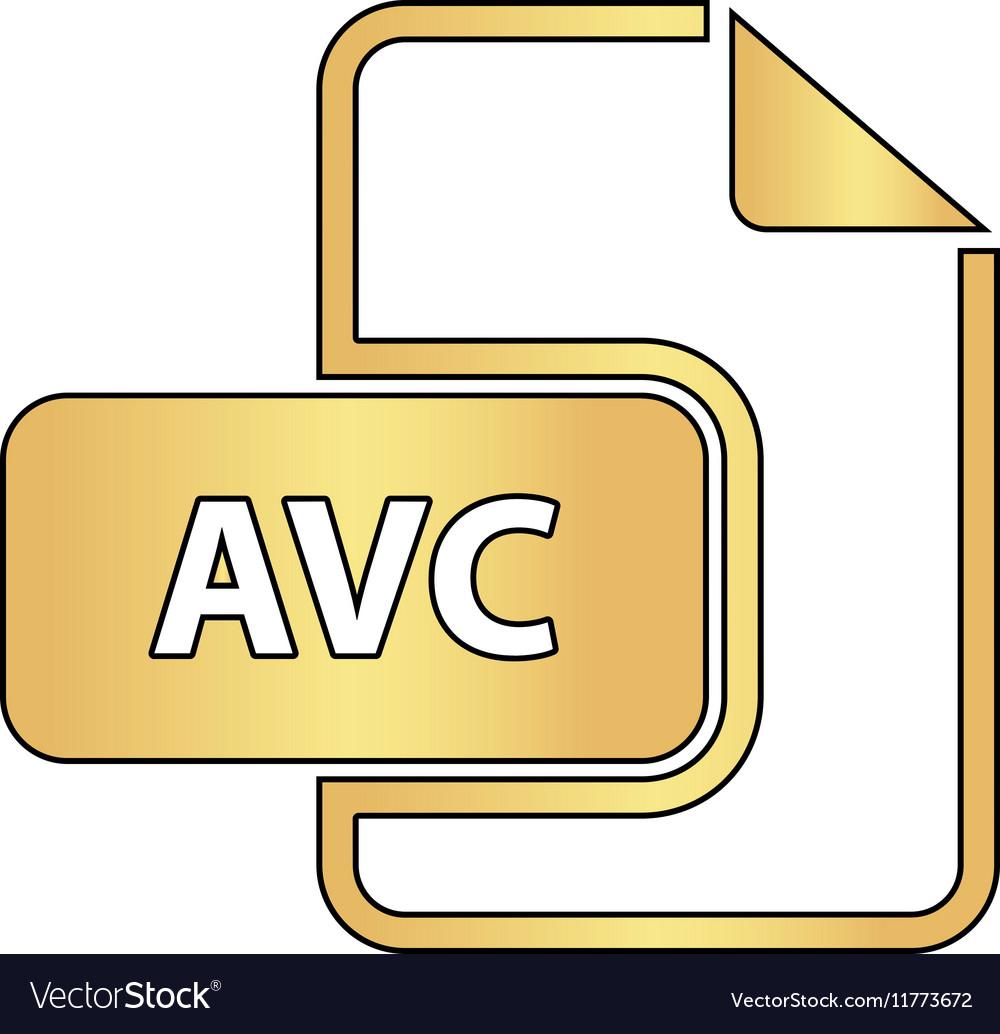 AVC computer symbol