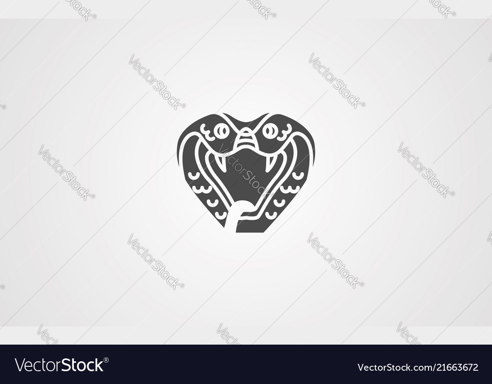 Cobra icon sign symbol