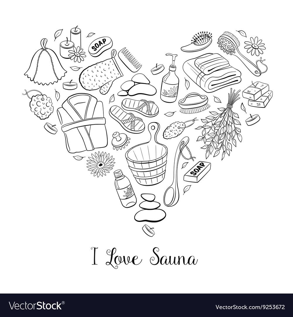 Sauna heart