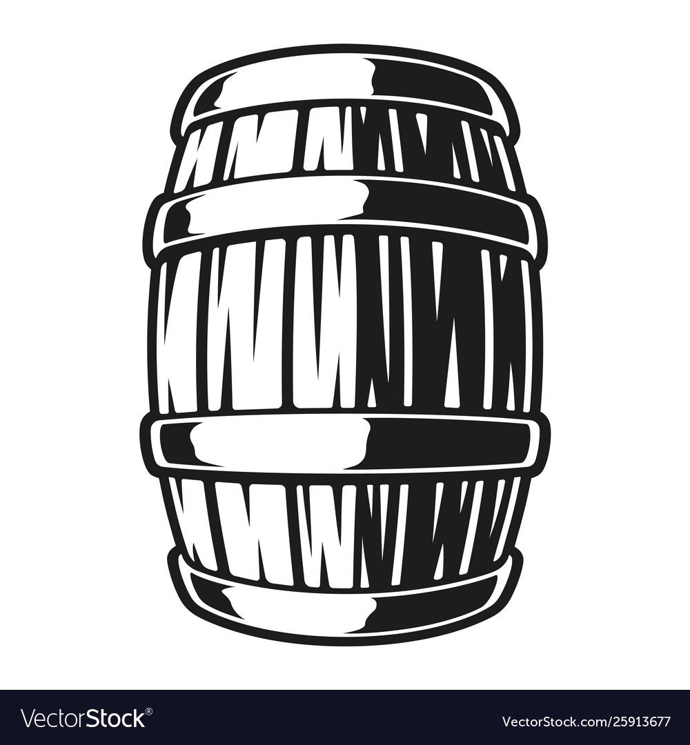A barrel beer