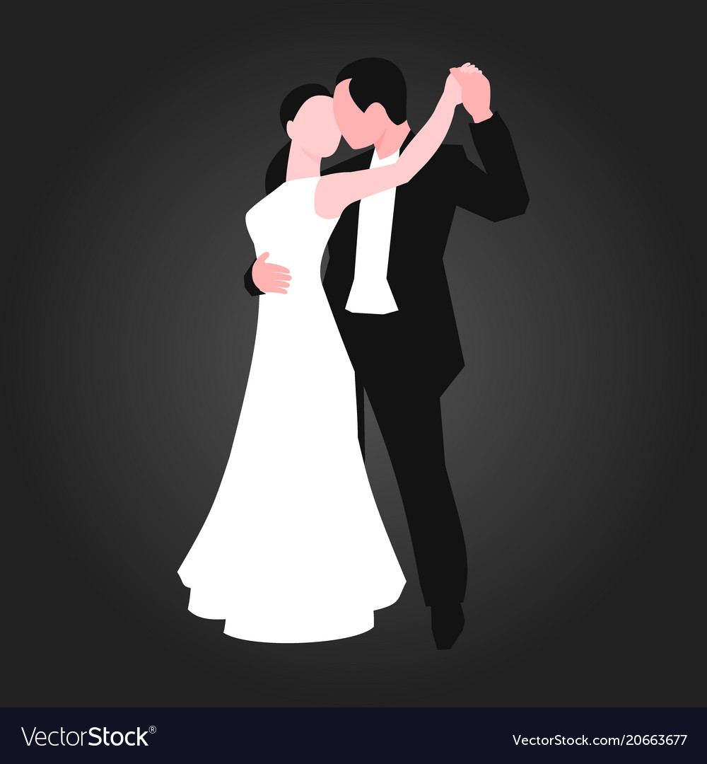 Couples dancing latin american romantic person and