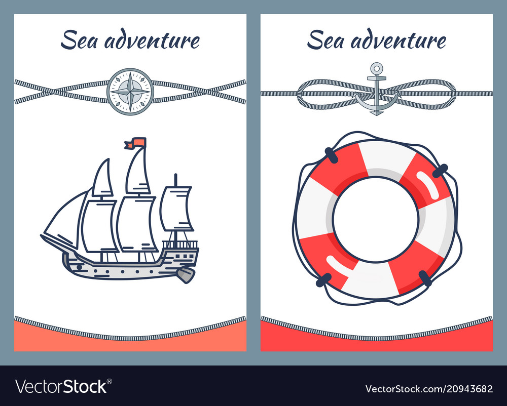 Sea adventure collection