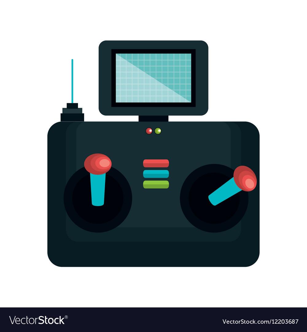 Drone control remote icon