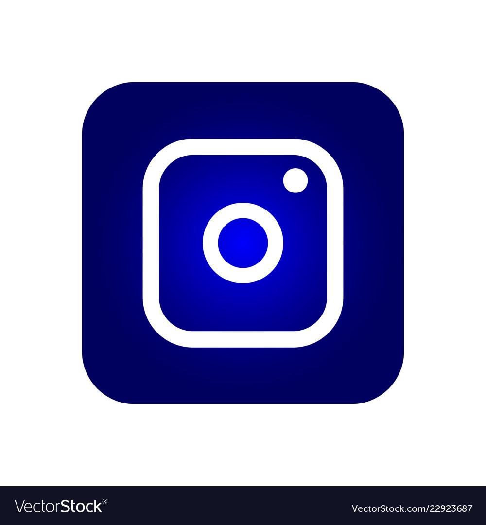 Icon symbol of the camera