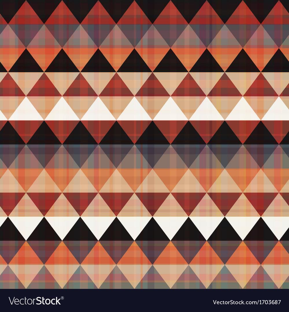 Seamless ethnic geometric pattern