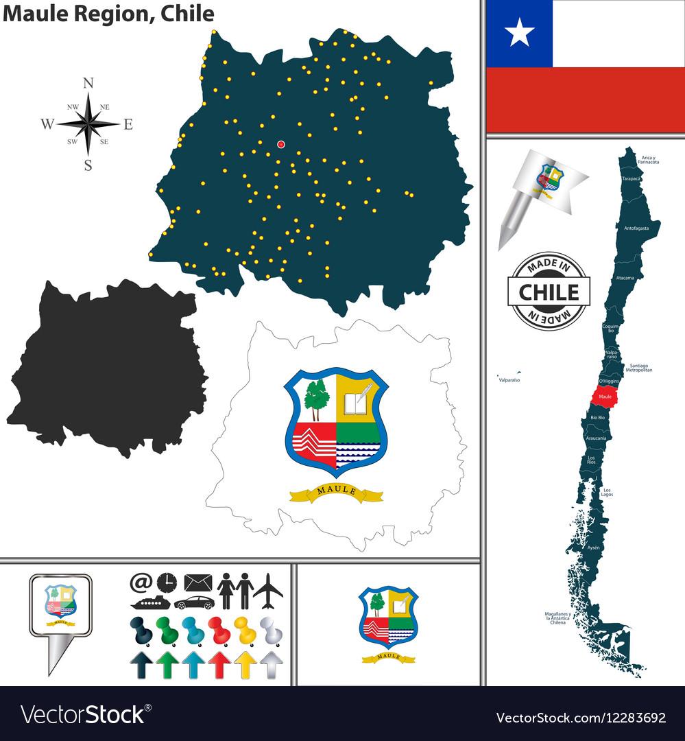 Map of Maule