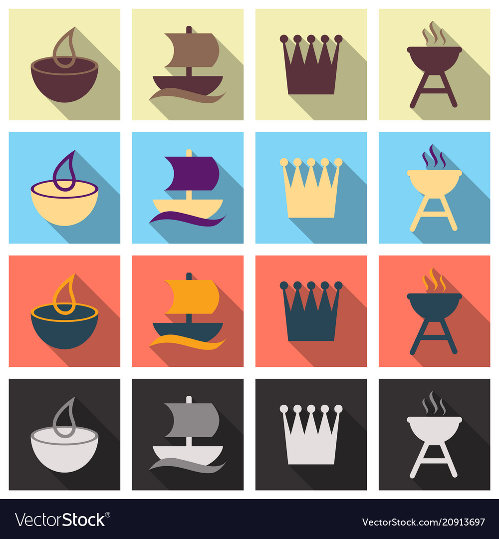 Travel Symbols And Tourism Signs Royalty Free Vector Image