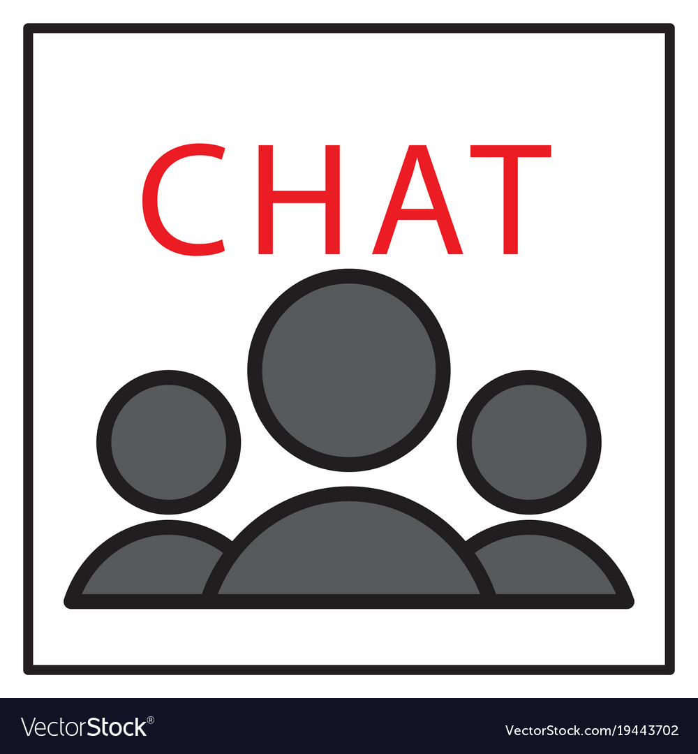 Mobile phone chat interface design template vector image maxwellsz