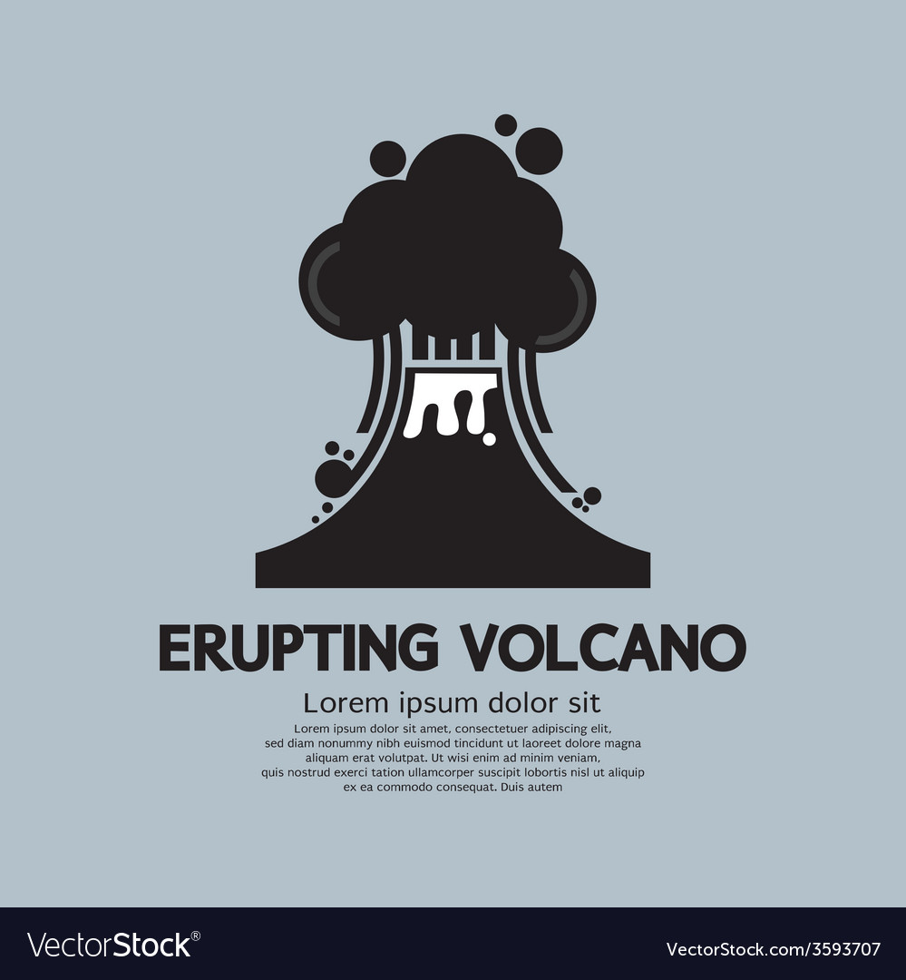 Erupting Volcano Natural Disaster