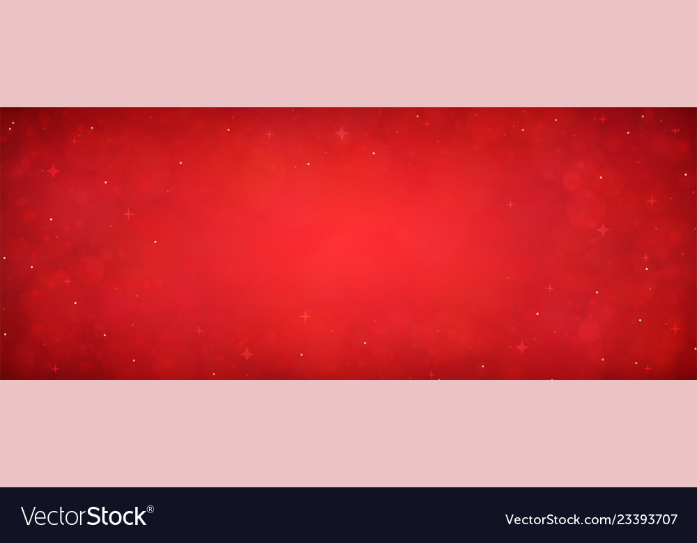 Red christmas glitter background with stars