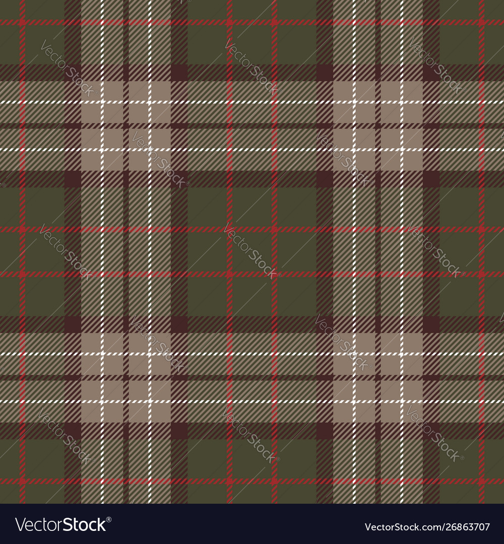 Seamless dark tartan check plaid pattern