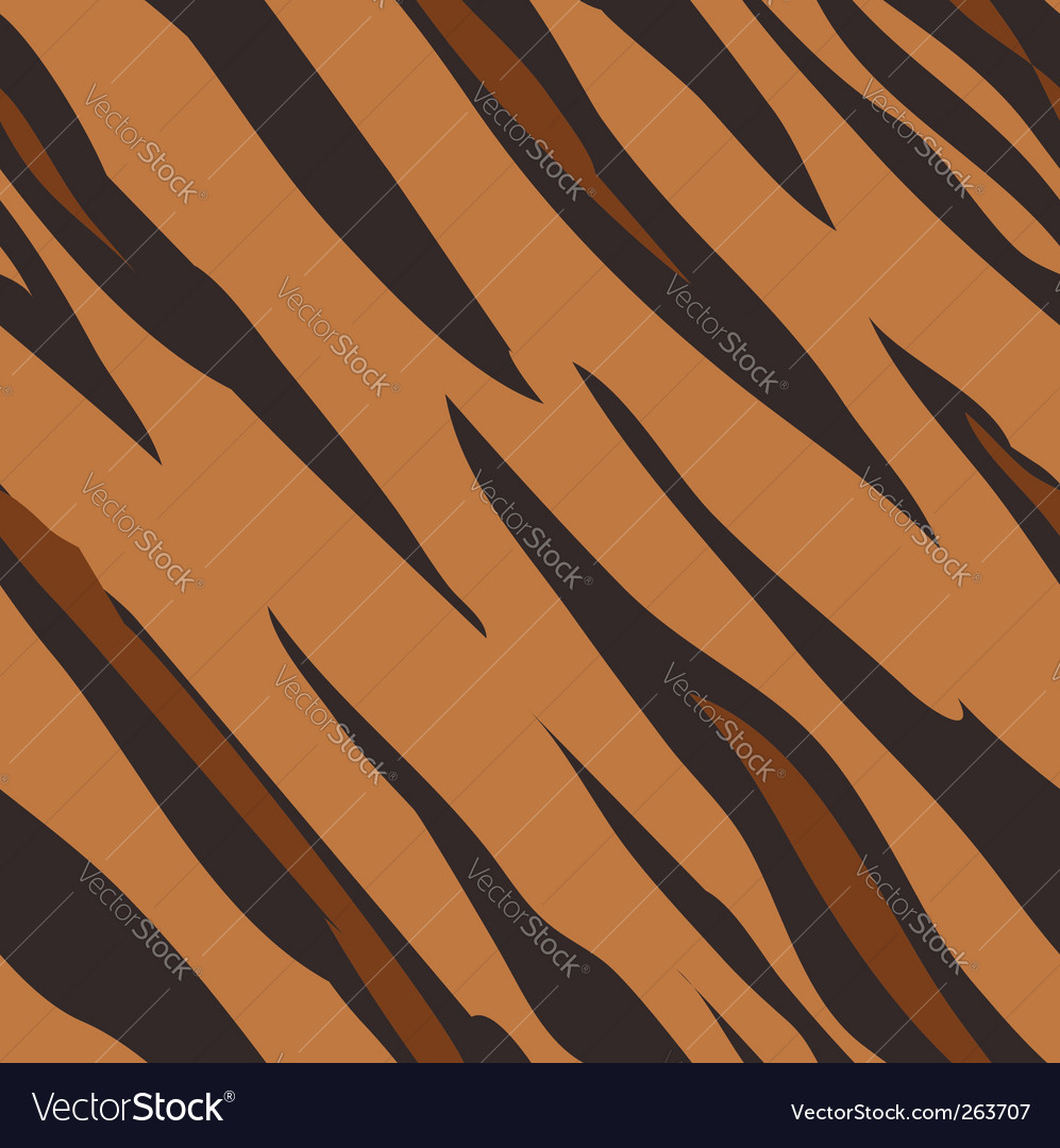 Tiger skin print pattern