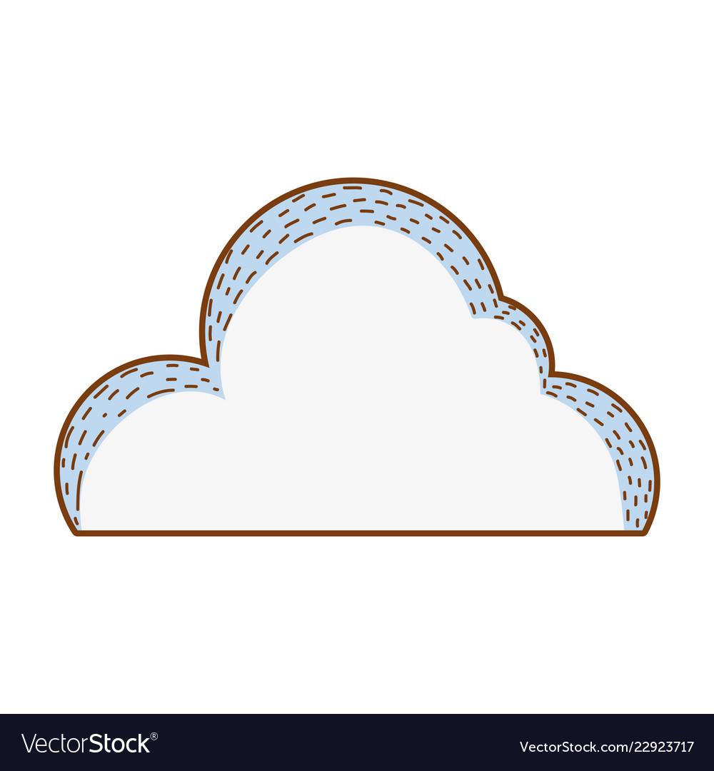 Cute cloud cartoon