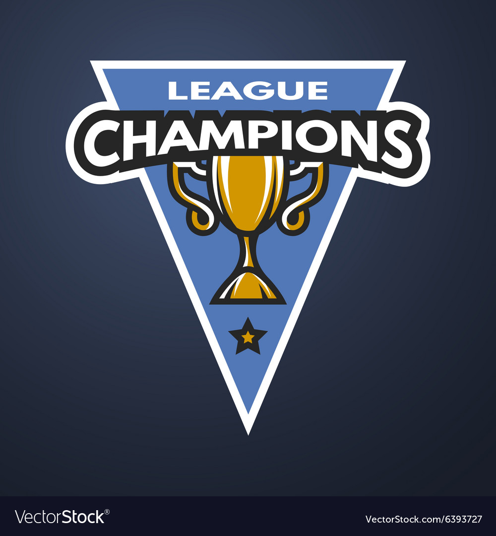 Champion sports league logo emblem