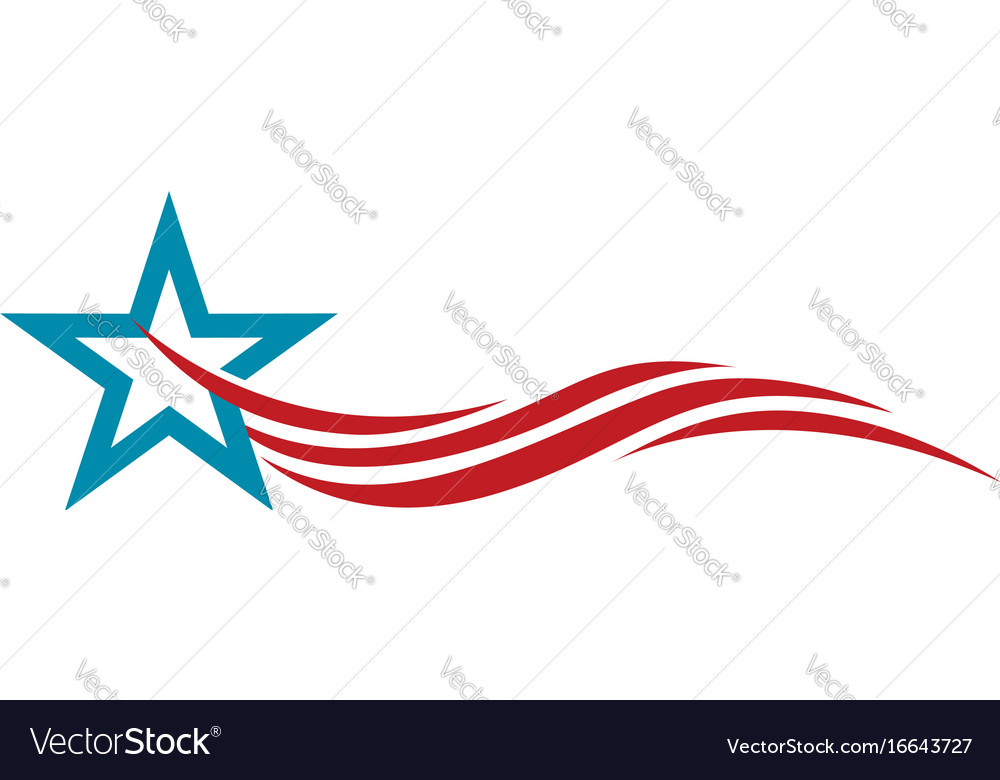 Star logo template